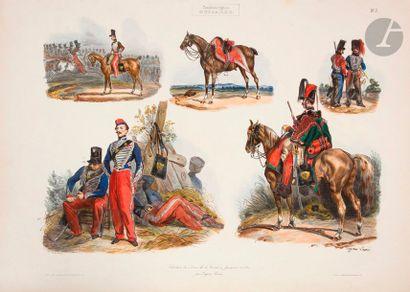 LAMI (E.) Collection des armes de la cavalerie...