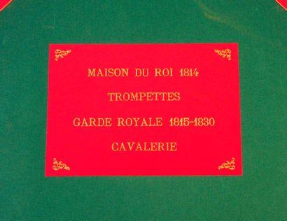 LELIEPVRE (E.) Maison du Roi. 1814-1815,...
