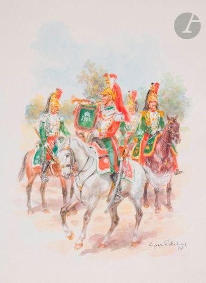 LELIEPVRE (E.) Trompettes de Carabiniers...