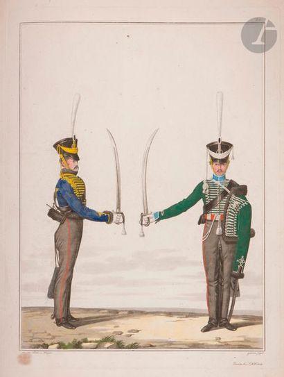 LIEDER & KRUGER La cavalerie prussienne....