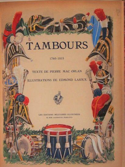 MAC-ORLAN (Pierre) Tambours. Paris, Edit....