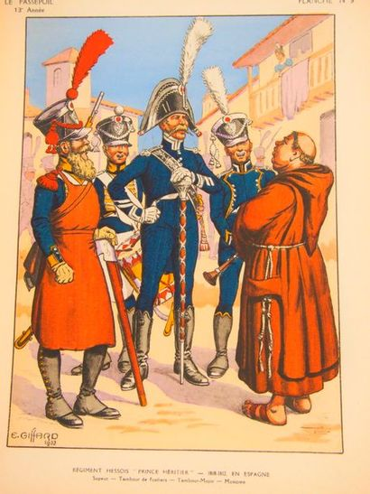 PASSEPOIL (LE )Newsletter of the Society for Uniform Studies. Strasbourg, 1921-1950,...