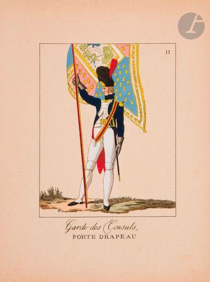 POTRELLE La Garde des Consuls. Paris, Roulleau,...