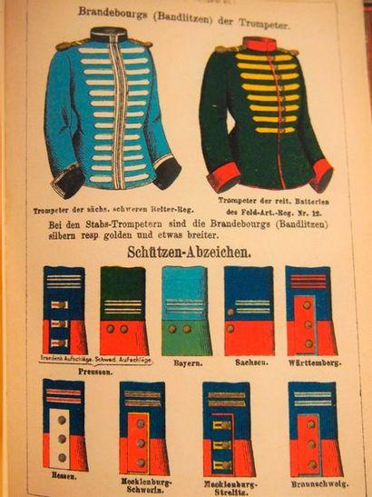 RUHL (Moritz). Die russische Armee. Leipzig, s.d., in-8, pleine toile verte. Avec...