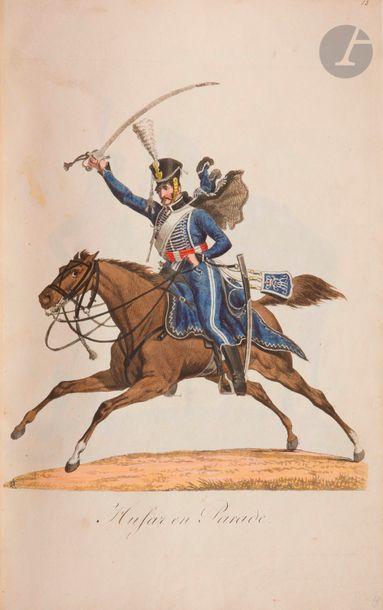 SAUERWEID L'armée saxonne en 1810. S.l.,...
