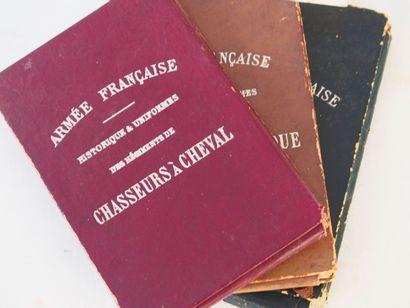 TITEUX (Eugène) Armée française. Chasseurs à cheval. 30 cartes. - Chasseurs d'Afrique...