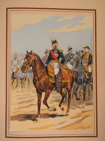 TOUSSAINT (Maurice) Napoléon III et sa Garde....