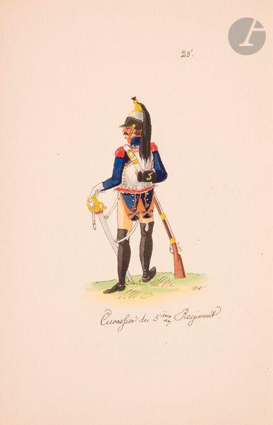 ZIMMERMAN Costumes des troupes françaises...