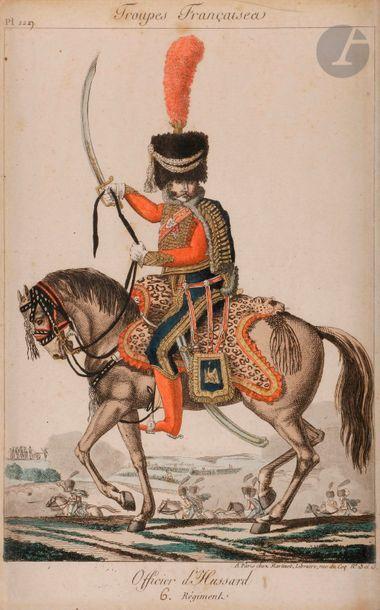 MARTINET (chez) Troupes françaises. pl. 1227....