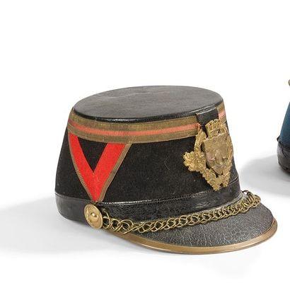 Shako modèle 1872 de la garde Républicaine...