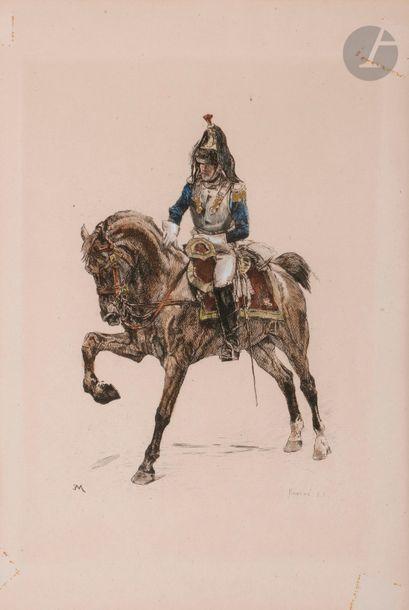 MEISSONIER (Ernest), gravé par KRATKE (S.C.)...