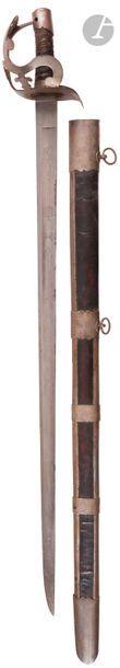 Sabre de dragon genre 1779-83 modifié sous...