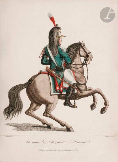 POISSON - CHARON Costume du 9e régiment de...
