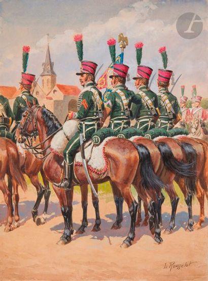ROUSSELOT (Lucien) - 11e régiment de Chasseurs...