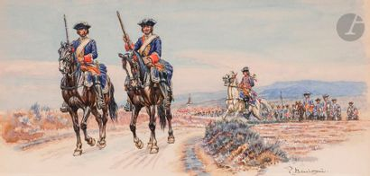 BENIGNI (Pierre) Patrouilles de carabiniers....