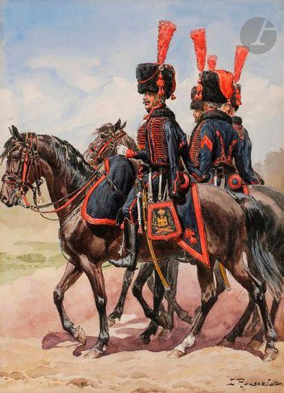 ROUSSELOT (Lucien) Artillerie à cheval de...