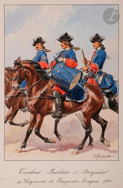 ROUSSELOT (Lucien) Tambour hautbois et brigadier...
