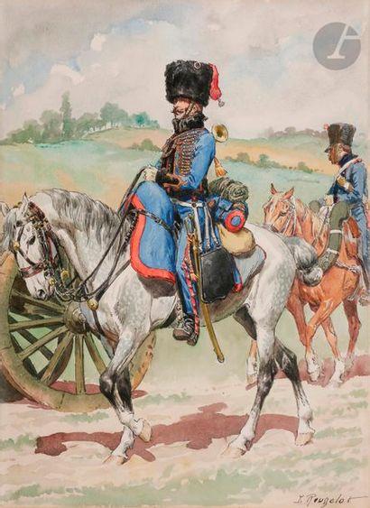 ROUSSELOT (Lucien) Trompette d'Artillerie...
