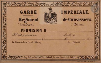 SOUVENIR DE RÉGIMENT 20e Régiment d'artillerie. Matricule. Classe. Tirage aquarellé...