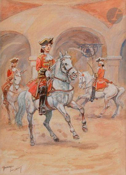 TOUSSAINT (Maurice) Gendarmes de la Maison...