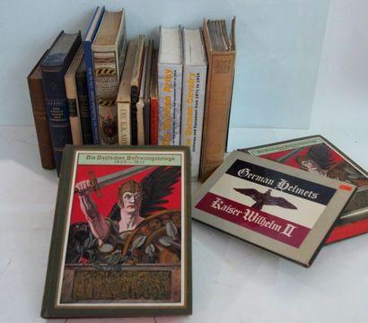 ARMÉE ALLEMANDE Ensemble de livres dont les principaux sont : KNOTEL. Das militar...