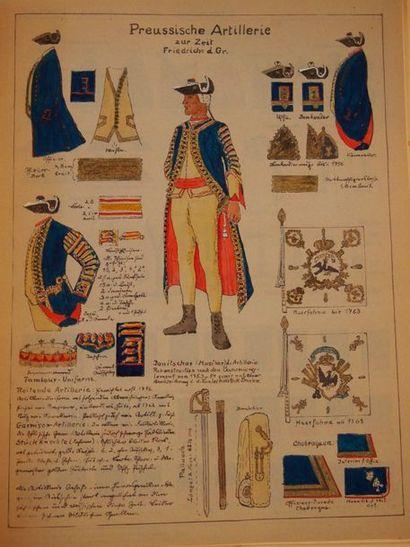 BOLTZE (E.) Die infanterie Friedrichs des...