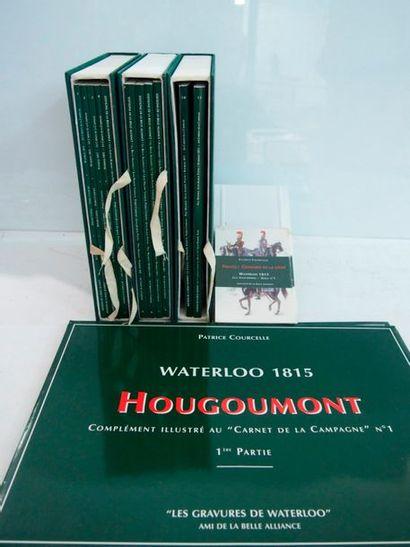 COURCELLE & PATTYN Waterloo. 1815. Les carnets de la campagne. Ens. de 11 fascicules...