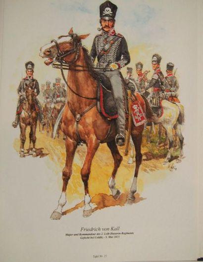 FANFARO Les Hussards prussiens. 1730-1807. Hambourg, Friese und Lacina, s.d., 2...
