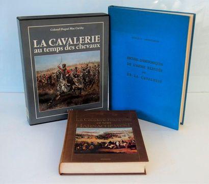 MAC CARTHY. La cavalerie et son harnachement. Paris, Maloine,1985, in-4, cartonnage...