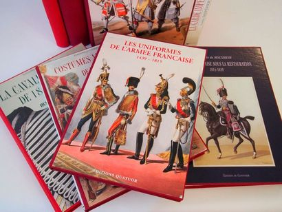 NOIRMONT & MARBOT. French army uniforms 1439 to 1789, 1789 to 1815. Quartet, 2007,...