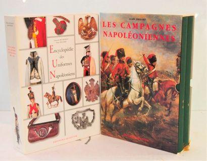 PIGEARD - BOURGEOT Encyclopédie des uniformes napoléoniens. Quatuor, 2003, 2 vol....