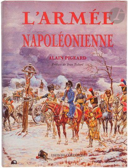 PIGEARD L'armée napoléonienne. Paris, 1993, fort vol. in-4, cartonnage édit. sous...