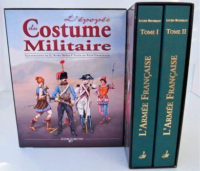 ROUSSELOT - MARTIN. L'armée française. Paris, Le Livre chez vous, 2009, 2 vol. in-4,...