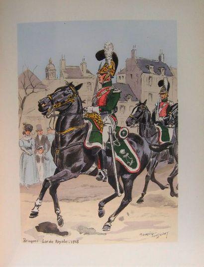 TOUSSAINT (M.) Soldats d'hier et d'aujourd'hui. Dragons. Paris, Éditions militaires,...