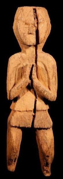 Statuette (Népal). Anthropomorphe, elle représente...