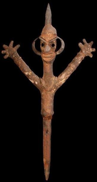 Marionnette MALEKULA (Vanuatu).. Servant...