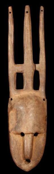 Masque BAMANA (Mali). Petit masque peigne...