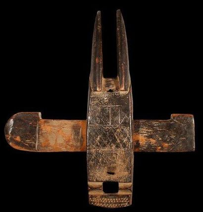 Serrure BAMANA (Mali). Très belle sculpture...