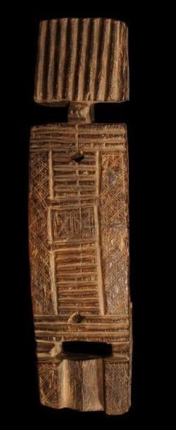 Serrure DOGON (Mali). Magnifique corps de...