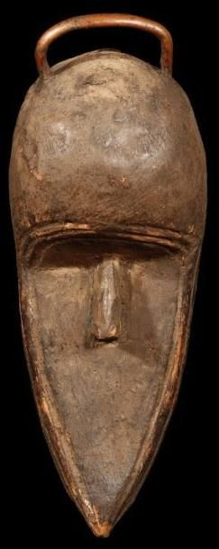Masque TOMA (Guinée). «Masque» sans yeux...
