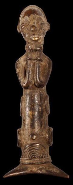Sifflet en bronze SENOUFO (R. Côte d'Ivoire)....