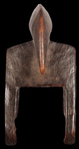 Poulie SENOUFO (Mali). Bel étrier de forme...