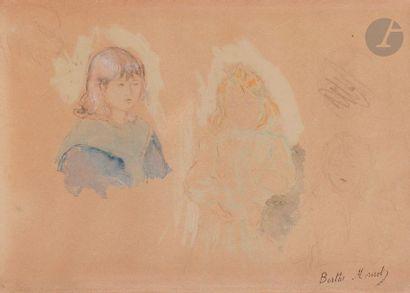 Berthe MORISOT (1841-1895) Les Enfants de...