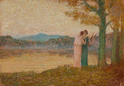 Alphonse OSBERT (1857-1939) Mélancolie du...