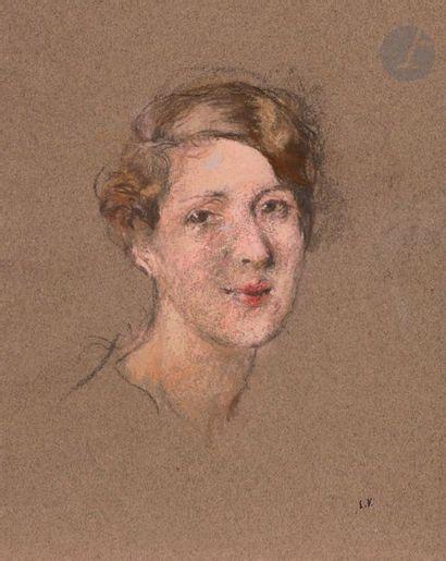 Édouard VUILLARD (1868-1940) Portrait de...