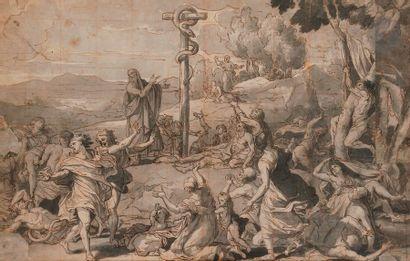École FRANÇAISE du XVIIe siècle Moise et...
