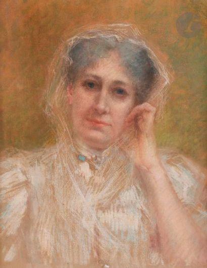 Lucien LéVY-DHURMER (1865-1953) Portrait...