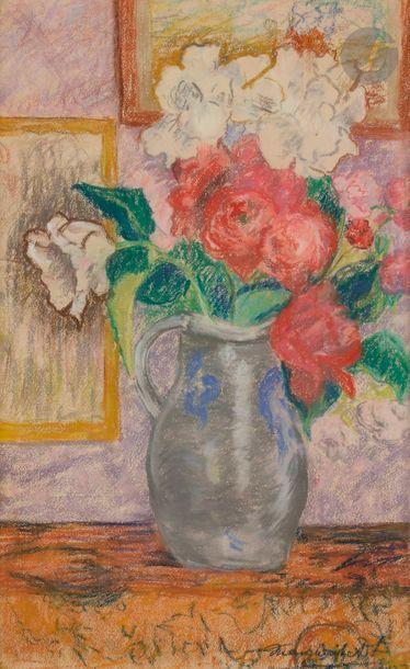 Marguerite DE BAYSER-GRATRY (1881-1975) Vase...