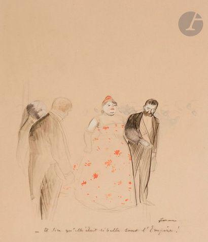 Jean-Louis FORAIN (1852-1931) Et dire qu'elle...