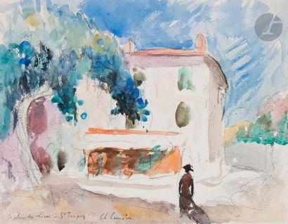 Charles CAMOIN (1879-1965) La Place des Lices,...